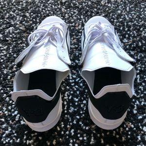 c4b62b3274f16 Y-3 Shoes - Adidas Y3 Stan Smith Neoprene zip white black